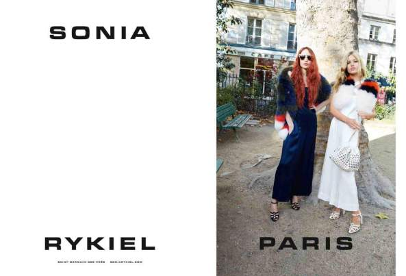 Source: Sonia Rykiel Official Georgia May Jagger & Elisabeth Jagger SS 2015