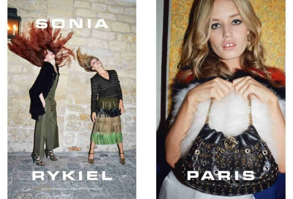 Source: Sonia Rykiel  Georgia May Jagger & Elisabeth Jagger SS 2015